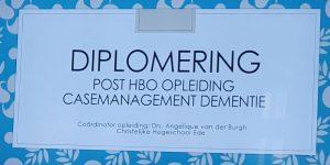 Diploma casemanager dementie - Diplomering - Brein Plaats